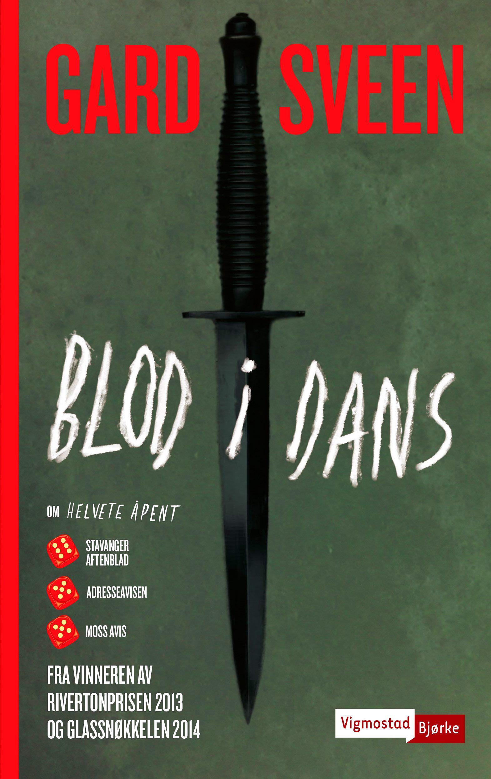BLOD I DANS omslag